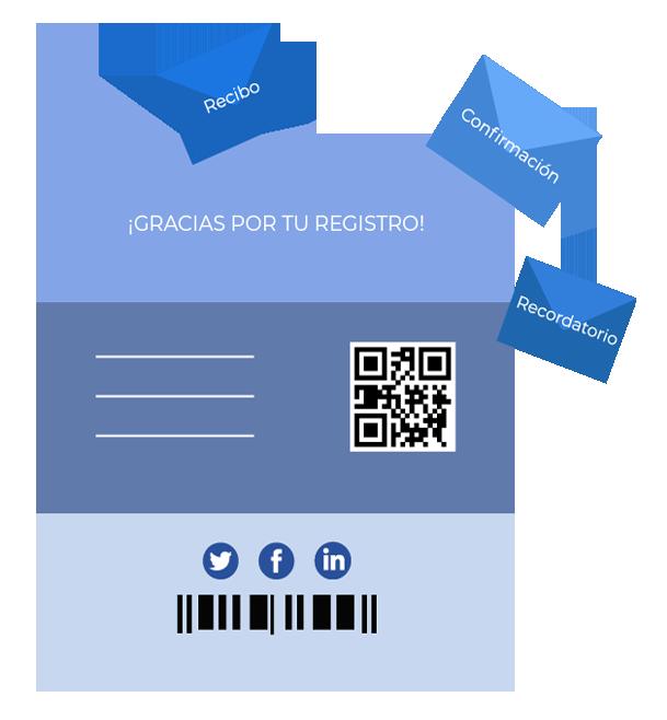 Correos electrónicos de confirmación personalizados