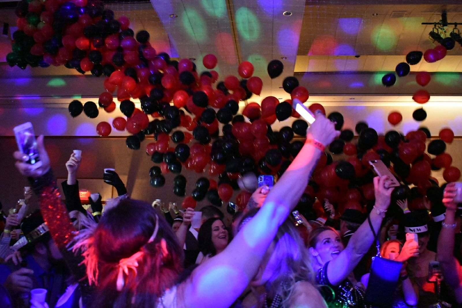 Party with a Balloon Drop