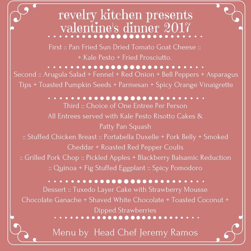 revelry kitchen valentines dinner - Revelry Kitchen